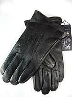 Мужские кожаные перчатки на махре оптом от 5 пар