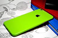 """Виниловая наклейка """"Салатовый мат"""" Iphone 6 PLUS / 6S PLUS (0,1 mm)"""