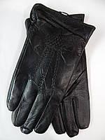 Мужские кожаные перчатки на махре оптом от 5 пар, фото 1