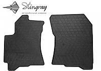 Subaru Tribeca 2005- Комплект из 2-х ковриков Черный в салон. Доставка по всей Украине. Оплата при получении