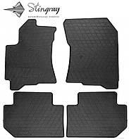 Subaru Tribeca 2005- Комплект из 4-х ковриков Черный в салон. Доставка по всей Украине. Оплата при получении