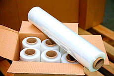 Стрейч пленка 2,4 кг (500 мм 17 мкм 20 мкм 23 мкм)