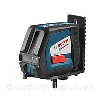 Лазерный уровень нивелир двухплоскостной Bosch GLL 2-50 (2-45) Оригинал