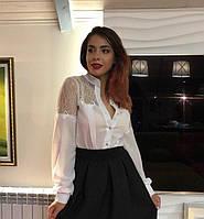 Женская шифоновая блуза