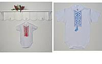 Детская вышиванка боди Тарас короткий рукав