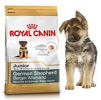 Корм для щенков немецких овчарок Royal Canin German Shepherd Junior