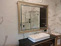 Зеркало с подсветкой в багете