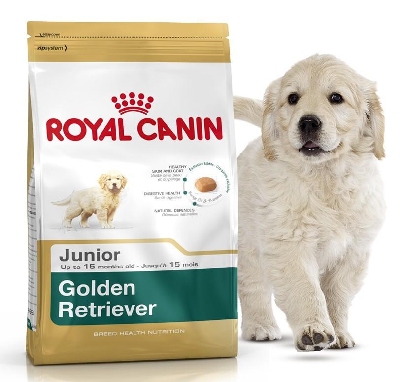 Корм для щенков золотистых лабрадоров ретриверов Royal Canin Golden Labrador Retriever Junior