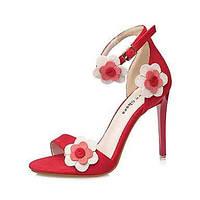 Для женщин Сандалии Удобная обувь Оригинальная обувь Гладиаторы клуб Обувь Дерматин Весна ЛетоСвадьба Атлетический Повседневные Для 05709467