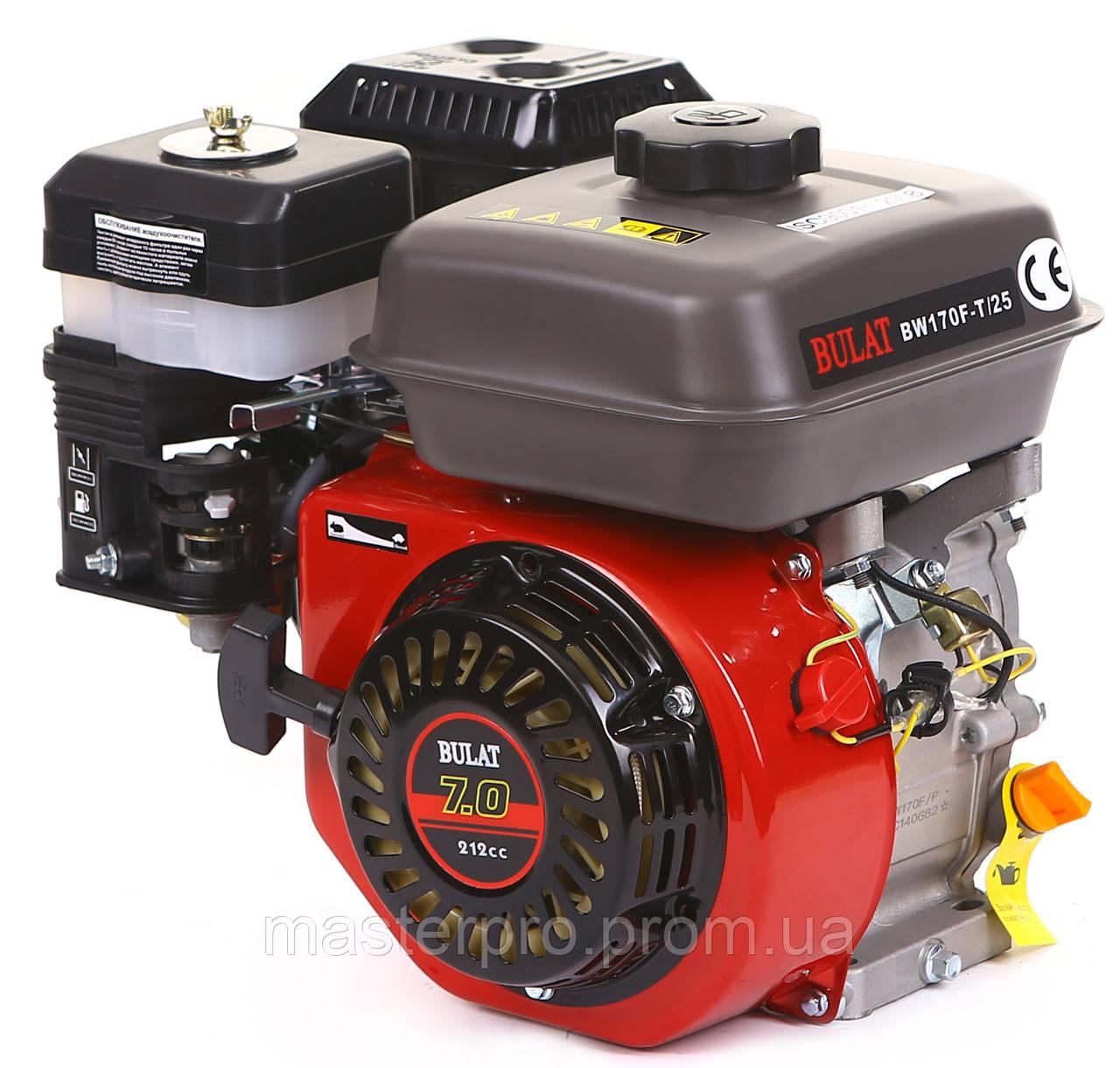 Двигатель бензиновый Bulat BW170F-T/25