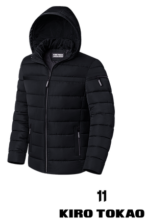 Стильная мужская зимняя куртка (р. 48-56) арт. 8812L, фото 2