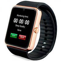 Умные часы телефон Smart Watch GT08 c SIM картой Gold