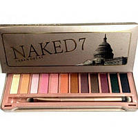 Тени для век Naked 7 Urban Decay (12 цветов)