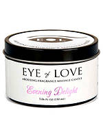 Массажная свеча с феромонами Eye of Love Evening Delight Massage Candle , фото 1