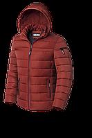 Мужская оранжевая зимняя куртка (р. 48-56) арт. 8812К