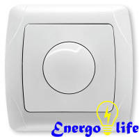 Диммер VIKO Carmen 600W RL белый, 90561020, для регулировки степени освещения в помещениях