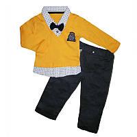 Костюм для мальчика (74-86) кофта+штаны арт.2632
