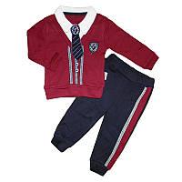 Костюм для мальчика (74-86) кофта+штаны арт.2644