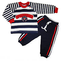 Костюм для мальчика 74-92 кофта+штаны арт.1308