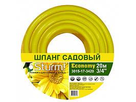 """3015-17-3430 Шланг садовый 3/4"""" 30м Economy желтый"""