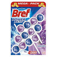 Шарики для унитаза Bref power aktiv Lavender 3x50 г. ( Лаванда )