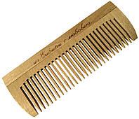 Расчески деревянные для волос ИЗ СИБИРИ С ЛЮБОВЬЮ (125mm / 27 зубьев)