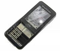 Корпус Sony Ericsson G502 чёрный, High Copy