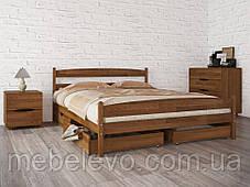 Кровать полуторная Лика с изножьем 140 Олимп, фото 3