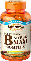 Sundown Naturals B Complex Super Maxi 200 tab Сандаун нечерлз б комплекс супер макси
