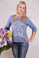 Блуза-туника трикотажная 439-осн804/1-154 полубатал оптом от производителя Украина