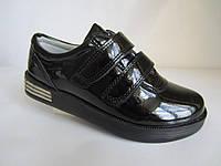 Стильные лаковые туфли на платформе 31-35 р