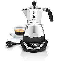 Электрическая гейзерная кофеварка Bialetti Moka Easy Timer (6 cup - 300 мл)