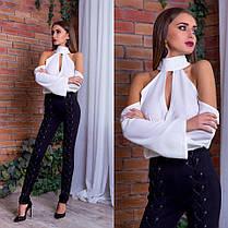 Блуза с открытыми плечами, фото 3