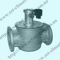 Клапан электромагнитный газовый фланцевый  Ду 200, 6 bar, НО (MADAS Италия)