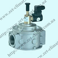 Клапан электромагнитный газовый муфтовый Ду 40, 0.5bar, НO (MADAS Италия)