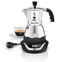 Электрическая гейзерная кофеварка Bialetti Moka Easy Timer (3 cup - 170 мл)