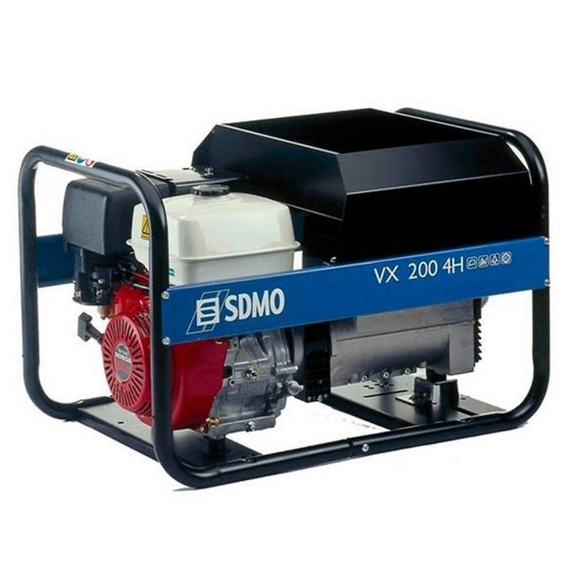 Генератор сварочный SDMO VX 200/4 H S (4кВт)