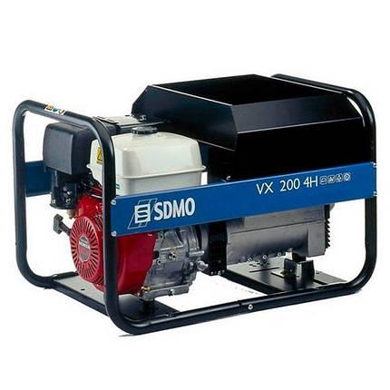 Генератор сварочный SDMO VX 200/4 H S (4кВт), фото 2