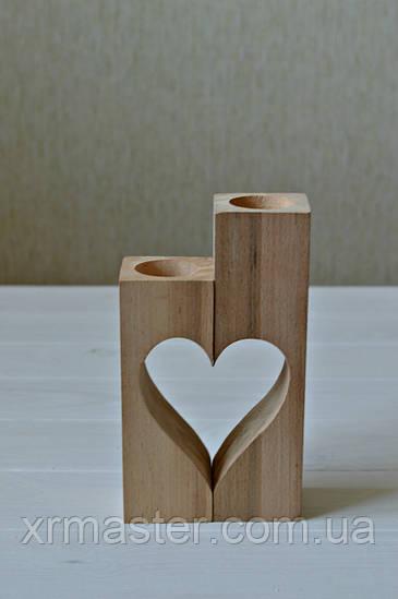 Подсвечник «Сердце»