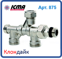 Icma Кран Радиаторный С Поворотным Присоединением На 360° 24*1,5