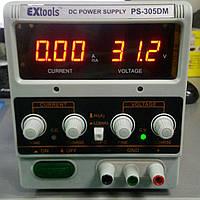 Лабораторный блок питания ExTools PS-305DM, 30В, 5А
