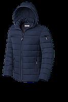 Мужская синяя зимняя куртка (р. 48-56) арт. 8812D