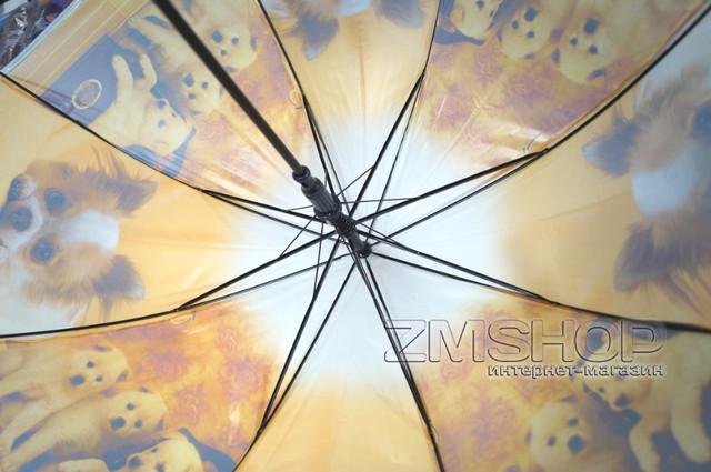 Зонт-трость Детский (рисунки)