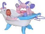 Набор для купания кукол №1 с аксессуарами и пупсом /в пакете/ Polesie 47243