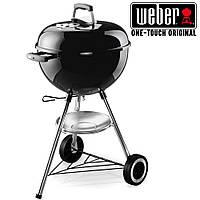 Гриль угольный Weber One-Touch Original 47 см, черный, без термометра