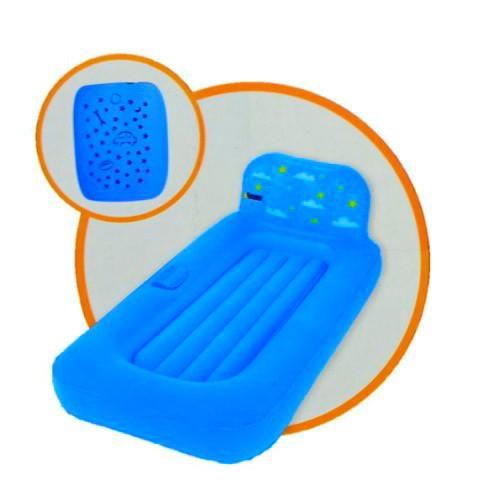 Надувная детская кровать с проектором  Bestway 132х76х46 см (67496)
