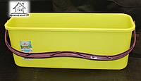 Пластиковое ведро для широкой швабры
