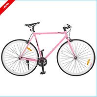 Акция!!! Велосипед PROFI FIX 28 дюймов G56JOLLY S700C-4, розовый ***