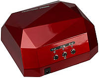 Лампа для сушки гель-лака MirAks MA-3618 Dark Red (Тёмно-красный/CCFL+LED/36W (12W CCFL+24W LED))