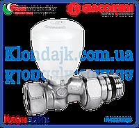 Giacomini микрометрический термостатический клапан прямой 1/2